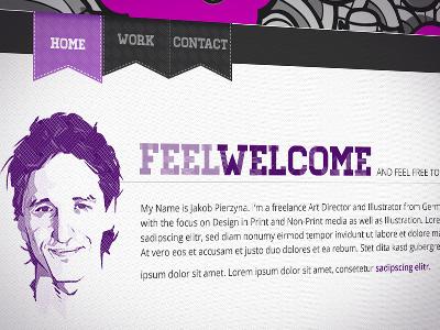 Website In Development homepage non-print illustration screen design