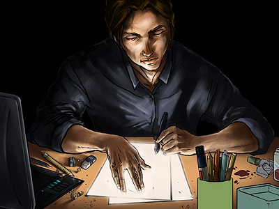 Illustrators Mind illustration photoshop digital art