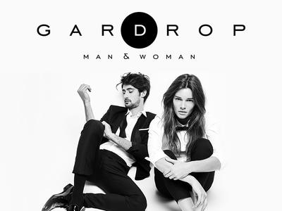Gardrop Fashion Logo wear black white logo fashion