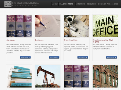 Law Firm Practice Areas