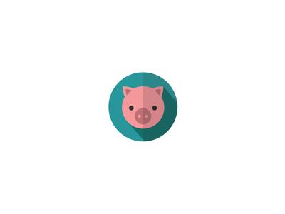 Pig Icon - Animal Pack