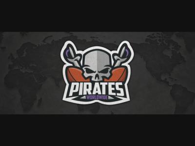 Pirates Worldwide Logo Design