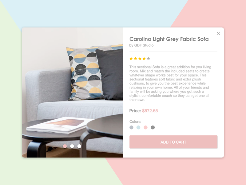 e-Commerce Shop user interface user experience ux ui sketch flat design dailyui shop ecommerce checkout