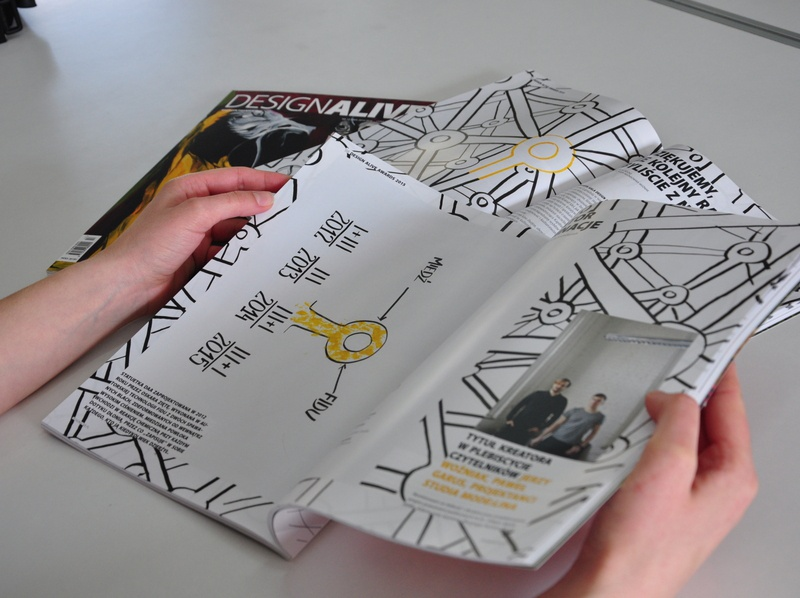 "Illustration for ""Design Alive"" magazine magazine illustration book magazine marker handmade typography illustrations design drawing illustration art dinksy graphic"