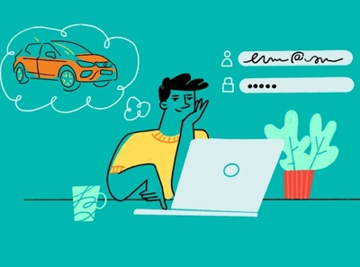 Video explainer for Seat automotive design automotive explainer video video explainer typography illustrations design drawing illustration art dinksy graphic