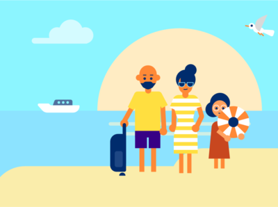 Motion graphics for ING summer vibes summer motion graphic motion graphics motion graphics animation motion graphics design illustrations design video explainer explainer video drawing illustration art dinksy graphic