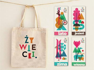 Branding for Beskid Zywiecki branding handmade typography illustrations design drawing illustration art dinksy graphic