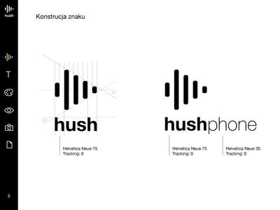 Brand book for Hush