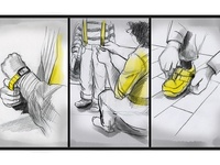 Storyboard from motion graphic