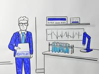 Whiteboard animation for video explainer