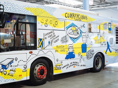 Live drawing on a bus markers handmade typography marker design illustrations drawing illustration dinksy graphic art live drawing bus