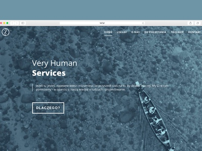 Website for Very Human Services
