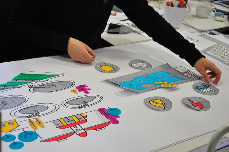 Scene from video explainer video explainer explainer video whiteboard design illustrations drawing illustration dinksy graphic art