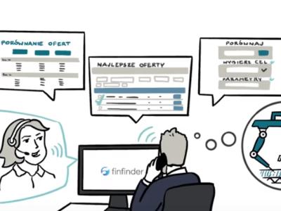 Video explainer for FinFinder