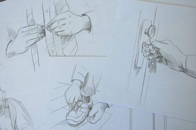 Sketches for video explainer