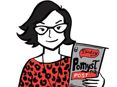 Dinksy illustration