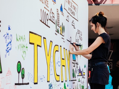 Graphic recording for Urzad Miasta Tychy