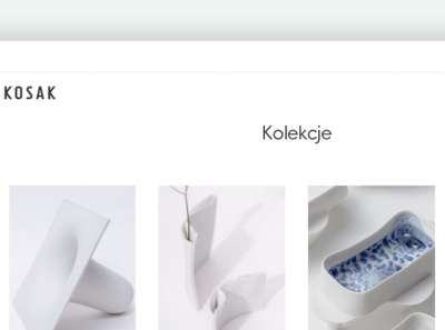 Website for Ceramika Kosak