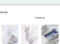 Website for Ceramika Kosak