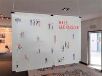 "Illustration for exhibition ""Male, ale Cieszyn"""