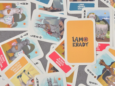 Graphic for card game Lamokrady