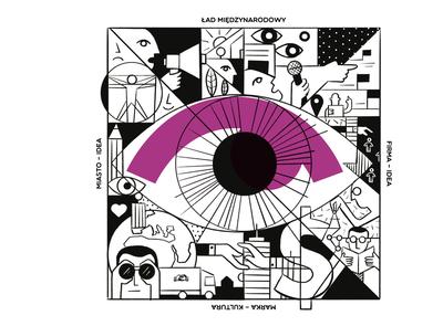 "Illustration for ""Open Eyes Magazine"""