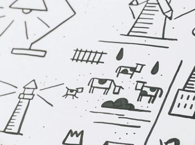 Dinksy doodle doodle icon animal marker handmade illustrations design drawing illustration art dinksy graphic