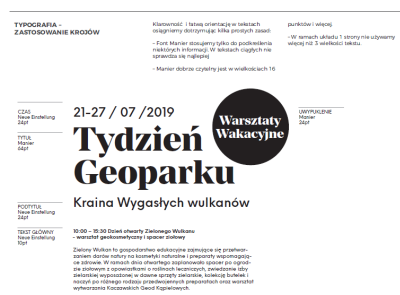 Brand book for geopark