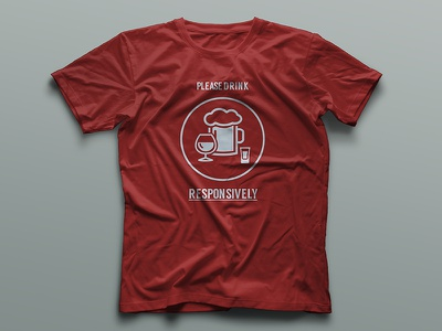 Tshirt Drink Responsively responsive fun tshirt designer