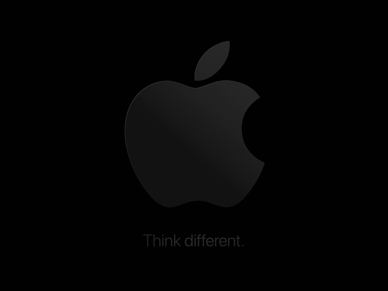 Apple Think Different Wallpaper By Sebastian Vogt On