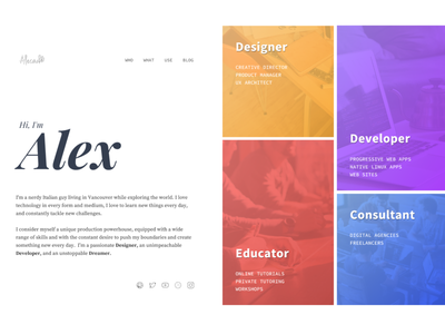 Personal Website - Full uid wordpress website