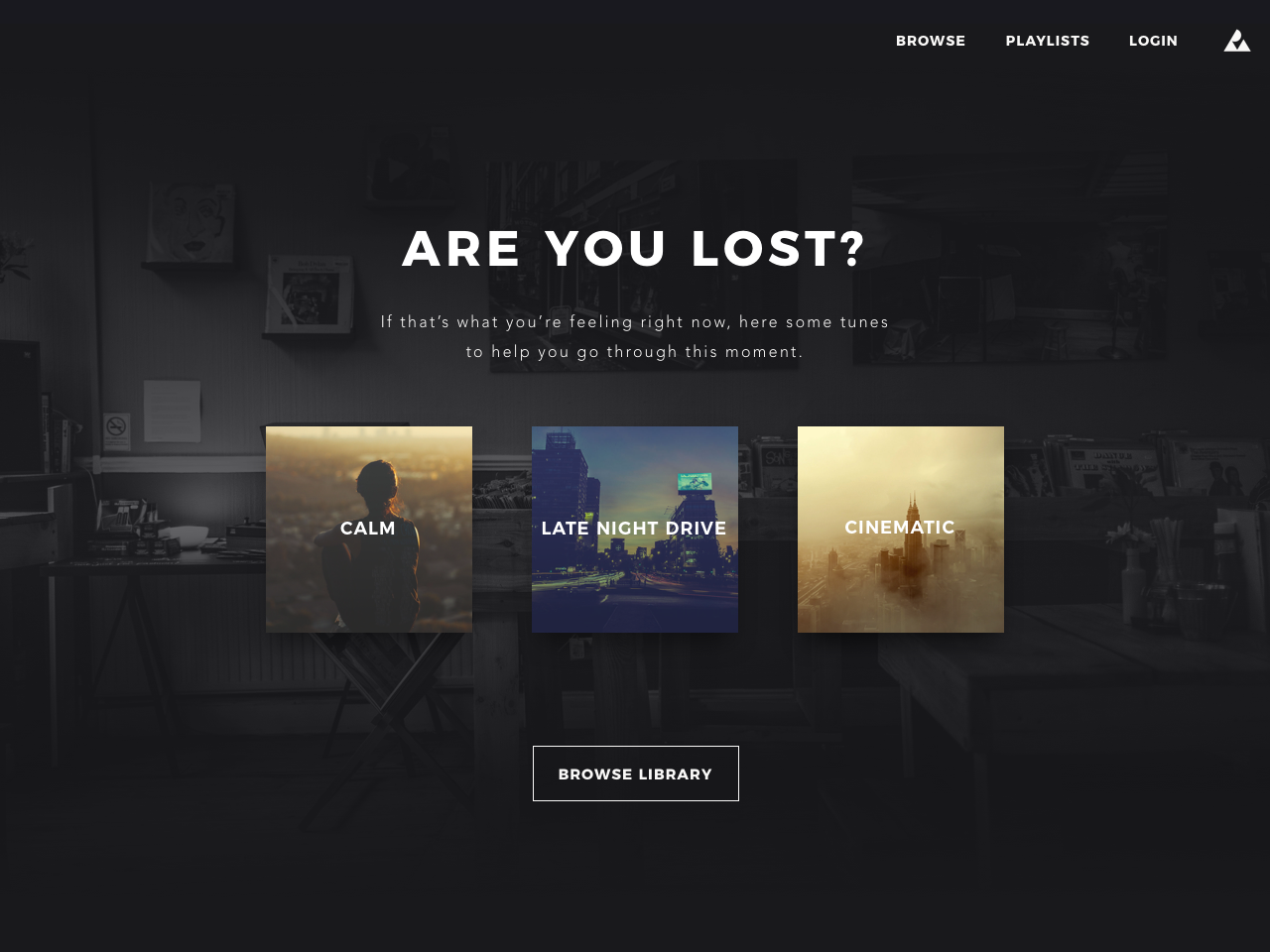 Sexiest 404 Page ever? music website ui  ux design 404 error 404