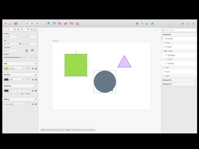 Akira - The Linux Design Tool gtk3 prototype linux app design ui  ux design ux design
