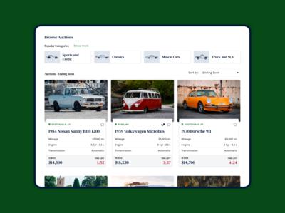 Auto Auction Platform