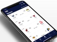 NBA App - Design System