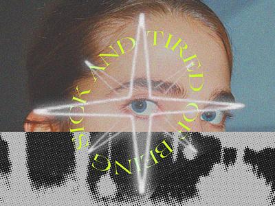 sparkle grain minimal nyc warp scan photography typography grunge texture collage