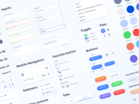 UI Component Library uicomponents forms inputs uiux videomaker buttons components ui kit
