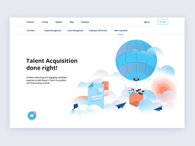 HRMS Website Design flat hr tool hr hrm hrms ux uiux illustration ui