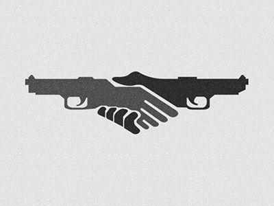 Hands Guns guns sellout treason enemy betrayal firearm police revolver shotgun logo black brand icon arms gun hand finger