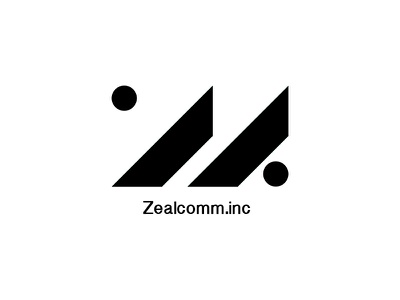 Zealcomm.inc Logo logo telecommunications communications geometric zealcomm zealcomm.inc