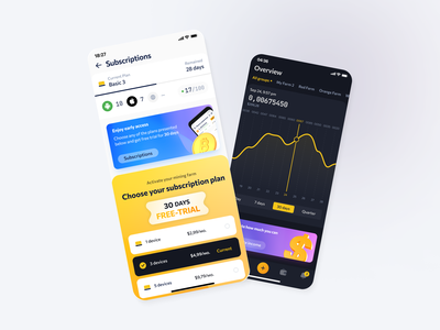 CryptoTab Farm Redesign game design trading swap exchange bank product design coin bitcoin nft interface ecommerce mobile app app layout cryptocurrency finance blockchain dashboard wallet crypto