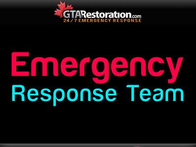 Emergency Plumbing Toronto Water Damage Restoration Response Tea app design branding web graphic design logo