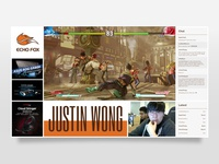 Justin Wong Twitch Overlay Dribble Shot