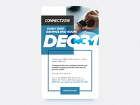 Connect 2018 Email Design