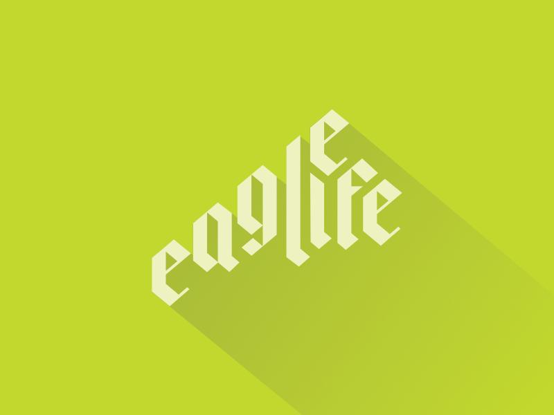 Eagle life dribbble