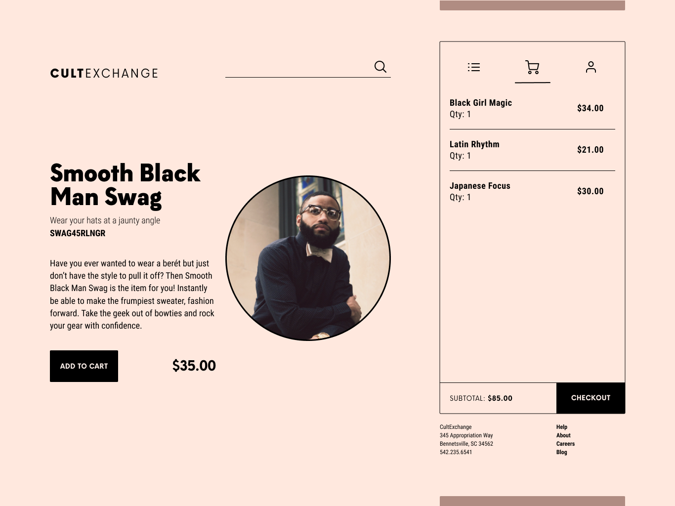 Daily ui   day 12   shop page