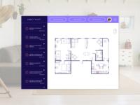 Daily UI - Day 21 - Home Monitor Dashboard