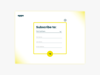 Daily UI - Day 26 - Subscribe Form