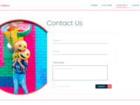 Daily Ui - Day 28 - Contact Page