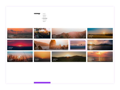 Daily Ui Day 44 Favorites